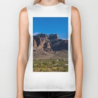 arizona Biker Tanks featuring Arizona by Katie Villarreal