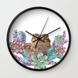 Desert Dragon Wall Clock