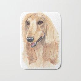 Afghan hound - A Bath Mat