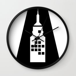 Artcotechsure: The A (white) Wall Clock