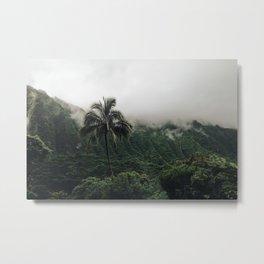 Cloudy Hawaii (2) Metal Print