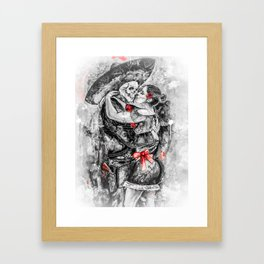 Un Ultimo Baile Pop-Red Version Framed Art Print