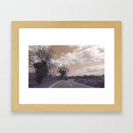 Journey to Skegness Framed Art Print