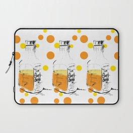I Am Orange Juice Lover: Pop Art Illustration Laptop Sleeve