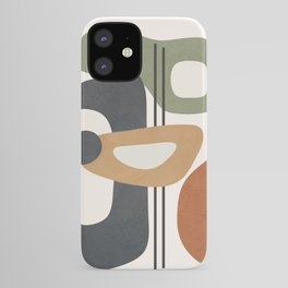 Modern Abstract Shapes 12 iPhone Case
