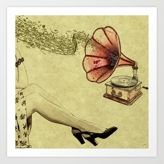 Retro Recollections - ANALOG zine Art Print