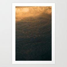Above the Clouds II Art Print