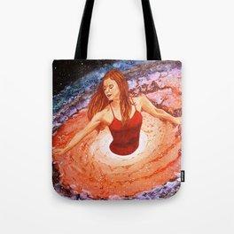 Her cosmic dance Tote Bag