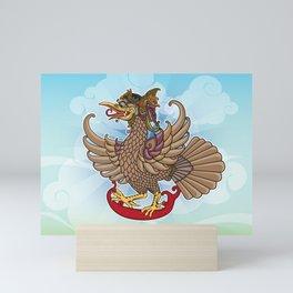 'Jatayu' or Eagle on the story of the Ramayana Mini Art Print