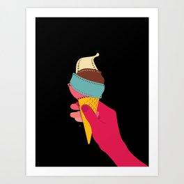 Summer Films Art Print