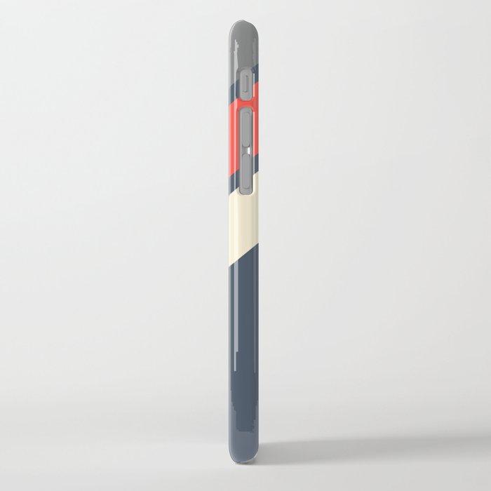 3 Retro Stripes #4 iPhone Case