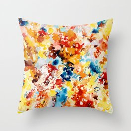 Cool Intense Throw Pillow