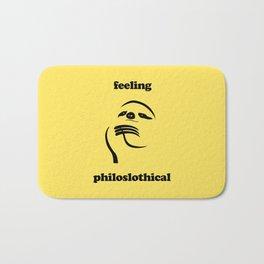 Feeling Philoslothical Bath Mat