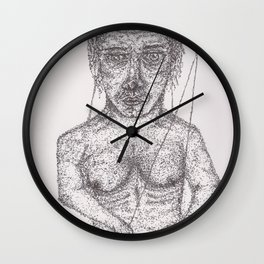 Strings Wall Clock