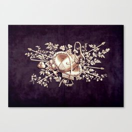 Vintage Purple Canvas Print