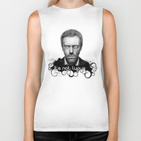 house md Biker Tanks featuring House MD It's Not Lupus  by Olechka