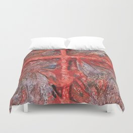 Red Cross Duvet Cover