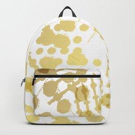 Golden Shapes Backpack
