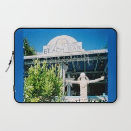 Ivan's on Jost Van Dyke, BVI- World's best honor bar! Laptop Sleeve