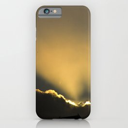 The Moment of Divine Breakthrough iPhone Case