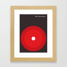2001 a space odyssey Framed Art Print