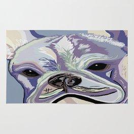 French Bulldog Denim Colors Rug