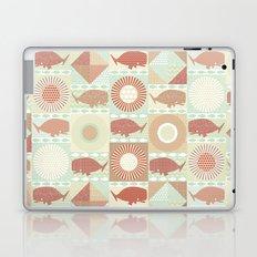 geo whales natural Laptop & iPad Skin