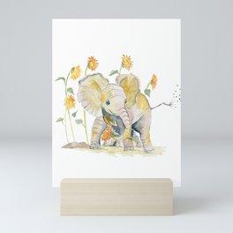 Baby Elephant 3 Mini Art Print