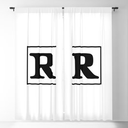 Rated R Blackout Curtain