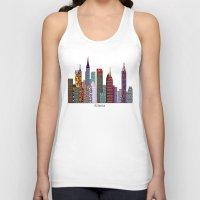 atlanta Tank Tops featuring Atlanta city  by bri.buckley