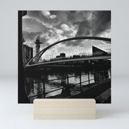 Salford Sky. Mini Art Print