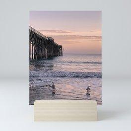 San Simeon Pier No. 3 Mini Art Print