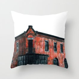 THOMAS O'CONNELL PLUMBING AND HEATING Throw Pillow