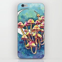 Mushroom Patch iPhone Skin