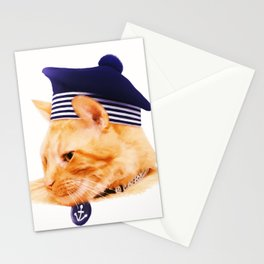 Sailor Cat Stationery Cards
