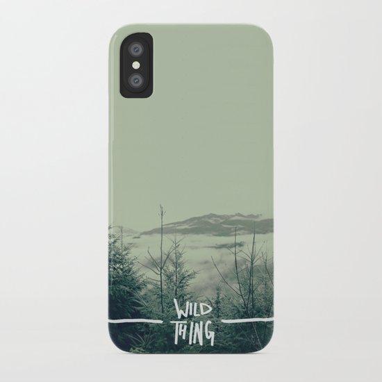 Wild Thing: Skagit Valley, Washington iPhone Case