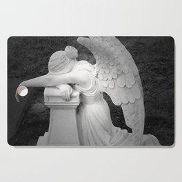 crying angel Cutting Board