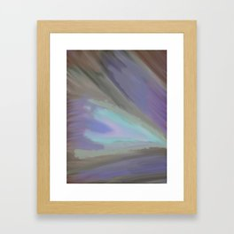 Clouded Eye Framed Art Print