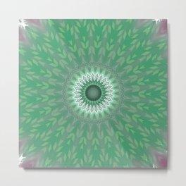 Some Other Mandala 406 Metal Print