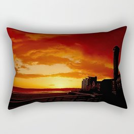 Sunset at Swansea Bay. Rectangular Pillow