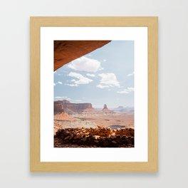 False Kiva Framed Art Print