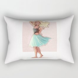 That Dress Rectangular Pillow