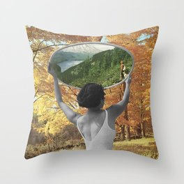We'll Be Reunited Someday Throw Pillow