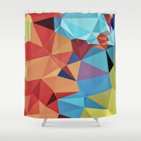 peace Shower Curtains featuring inner peace by contemporary