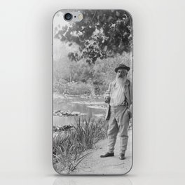 Claude Monet a Giverny iPhone Skin