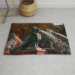 Lions in Paris by Lika Ramati Rug