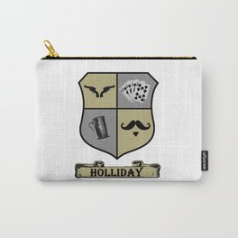 Doc Holliday Coat of Arms Carry-All Pouch