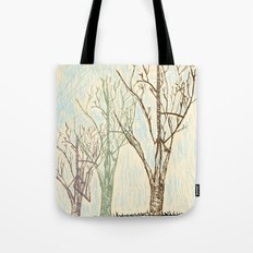 A Winters Sketch Tote Bag