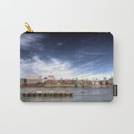 The River Thames and Barge and St Paul's Cathedral Carry-All Pouch