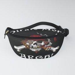 Pirate Mom Skull Crossbones Fanny Pack